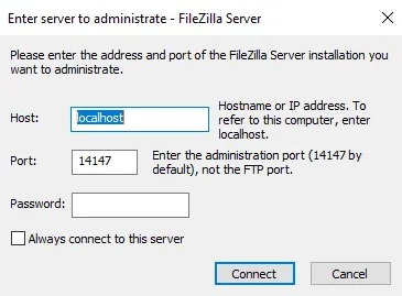 How to clean files with filezilla 3