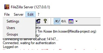 How to clean files with filezilla 5