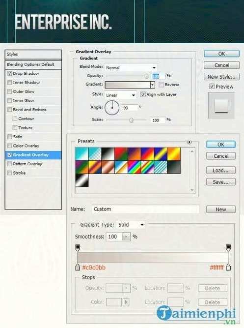 how to create a professional web interface with photoshop 30