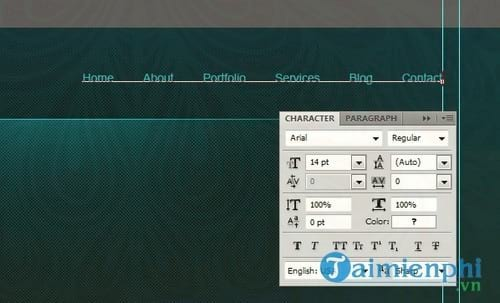 how to create a professional web interface photoshop 31