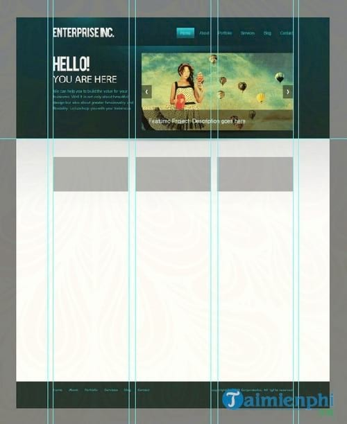 how to create a professional web interface with photoshop 63