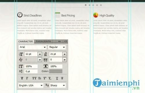how to create a professional web interface with photoshop 65