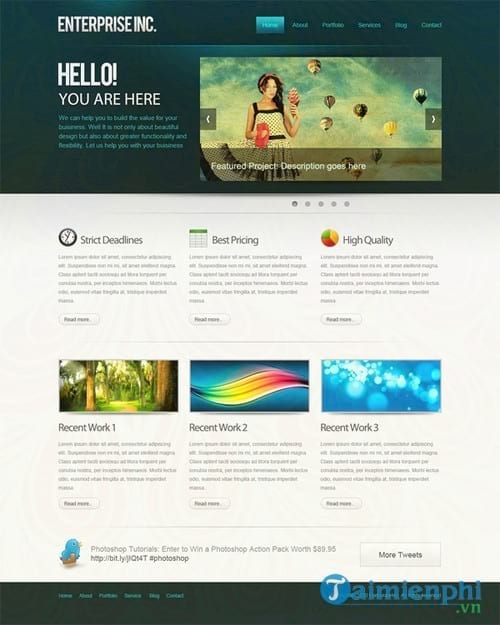 how to create a professional web interface with photoshop 84