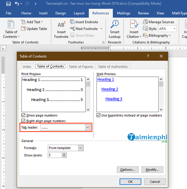 How to create a folder in Word 2019 7