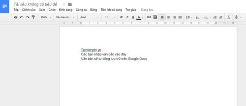 create googe docs word 7 page