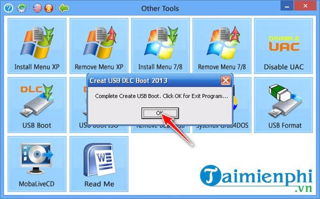 how to create bootable usb with dlc boot 2013 8