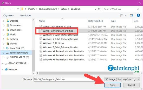 how to create a bootable usb with Windows 10 with rufus 4