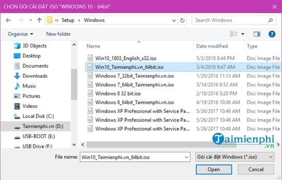 How to create a USB stick while installing Windows 10 8 7 xp 11