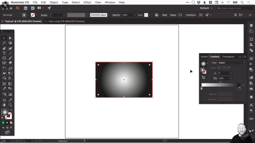 How to create and correct gradients in Adobe Illustrator 3