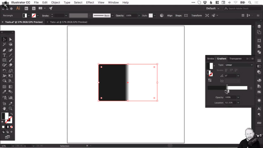 How to create and correct gradients in Adobe Illustrator 4