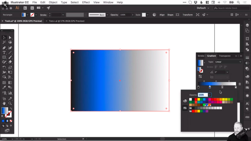 How to create and correct gradients in Adobe Illustrator 5