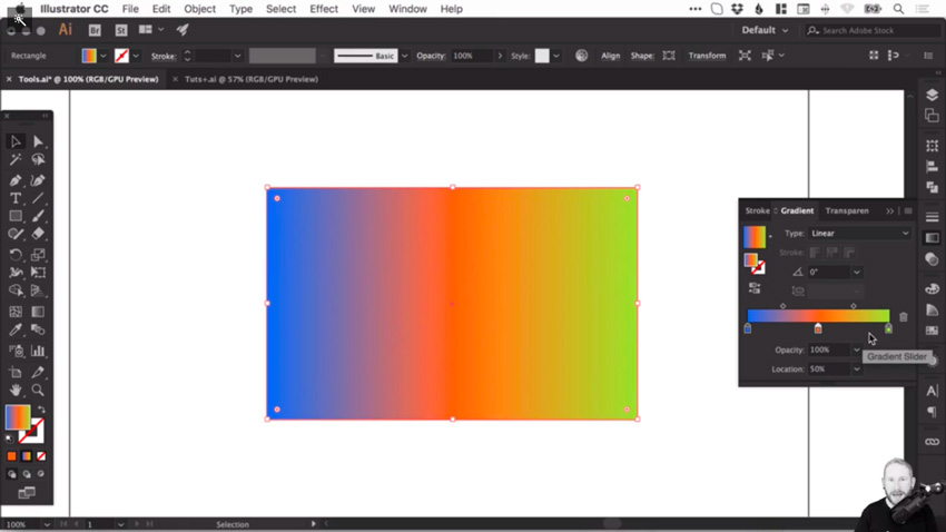 How to create and correct gradients in Adobe Illustrator 7