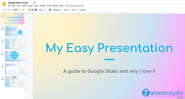 How to create and use gradients in google sides 15