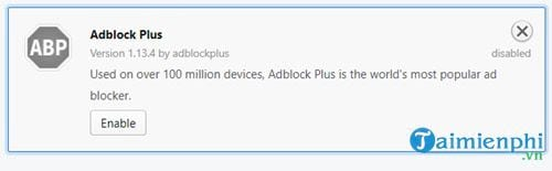 how to disable adblock disable an 13