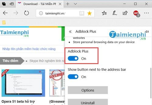 how to disable adblock disable an 15