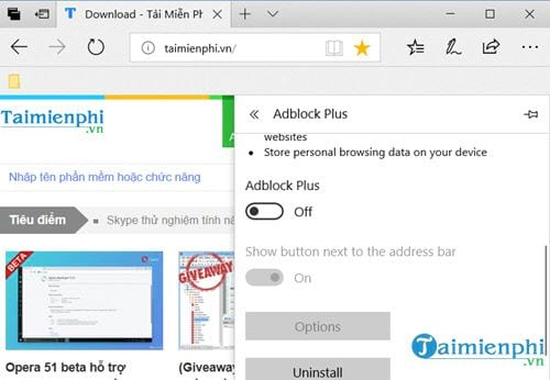 how to disable adblock disable an 16
