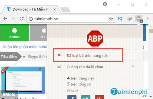how to disable adblock disable an 4