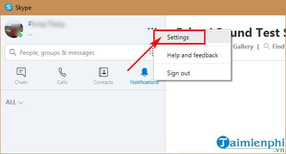 how to view skype 4