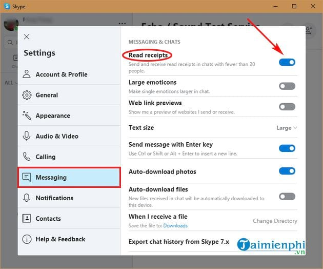 how to view skype 5