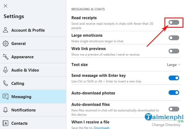 how to view it on skype 6