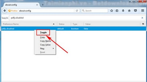Protect PDF files on firefox