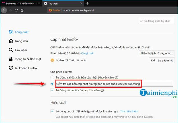how to update firefox 6