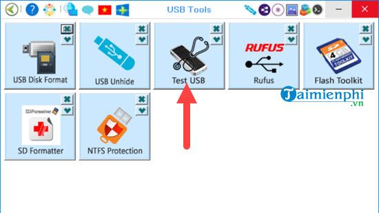 how to test the writing of the usb drive 5