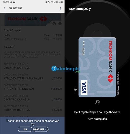 how to pay for purchases with samsung pay 4