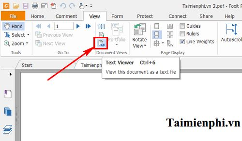 How to change pdf file with Foxit Reader 2?