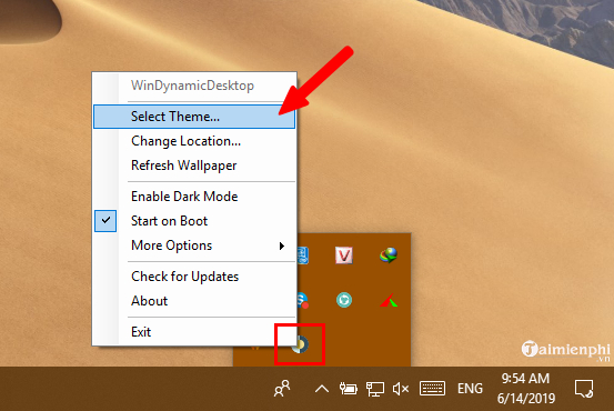 how to change the live wallpaper immediately on Windows 10 13