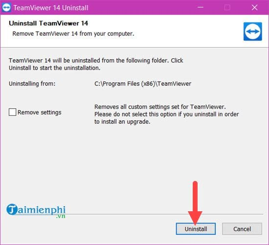 How to change the id teamviewer when blocked between 5 minutes 6