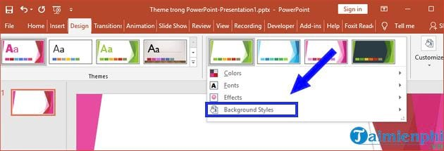 how to change theme in powerpoint 17