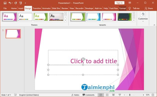 how to change theme in powerpoint 4