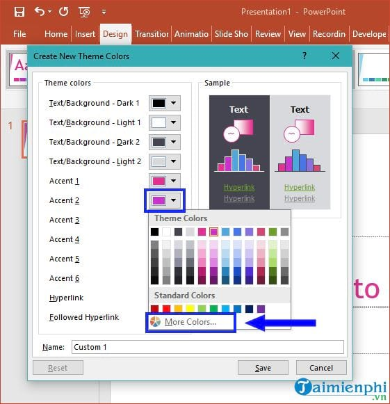 how to change theme in powerpoint 6