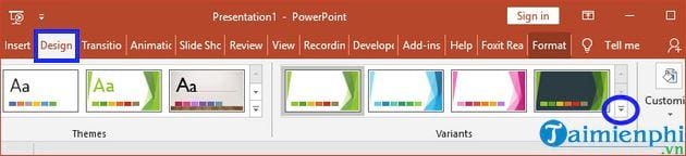 how to change theme in powerpoint 9