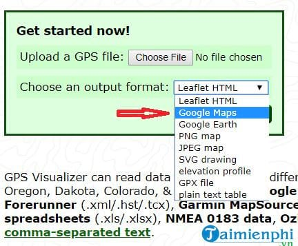 How to add gpx file to google maps 3