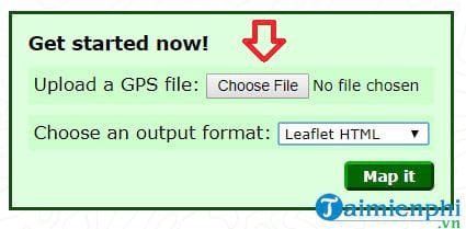 How to add gpx file to google maps 4