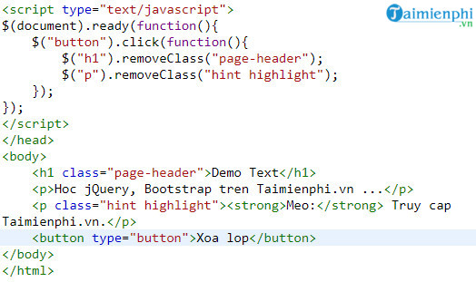 how to add and delete css bang jquery 5