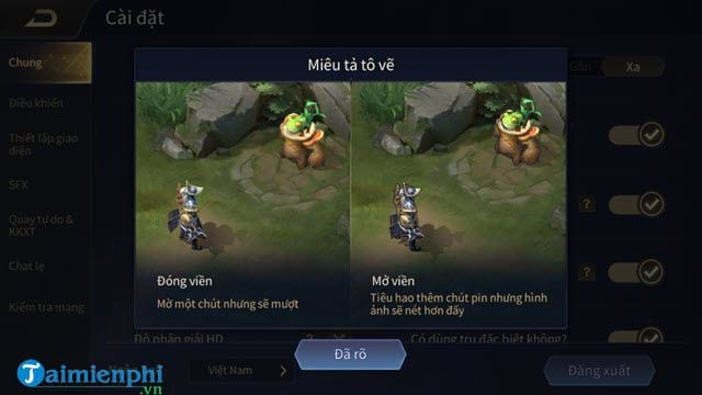 how to set up mobile related settings to play better than 2