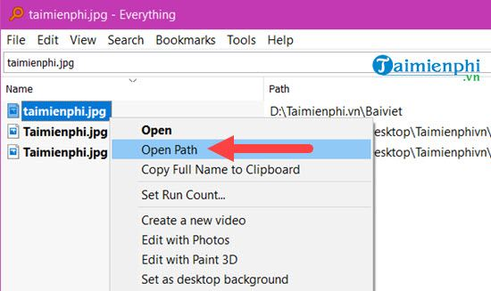 how to find files quickly on windows 10 13