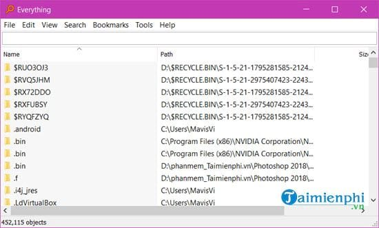How to quickly find files on Windows 10 9