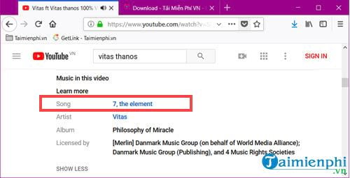 how to find a song in the video on youtube 5