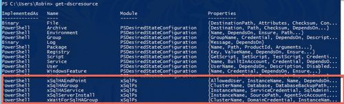 How to deploy sql server via powershell dsc 5