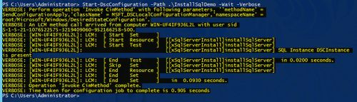 How to deploy sql server via powershell dsc 9