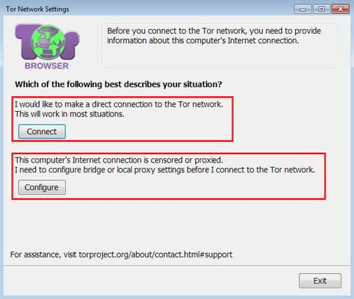 access deepweb with browser 3