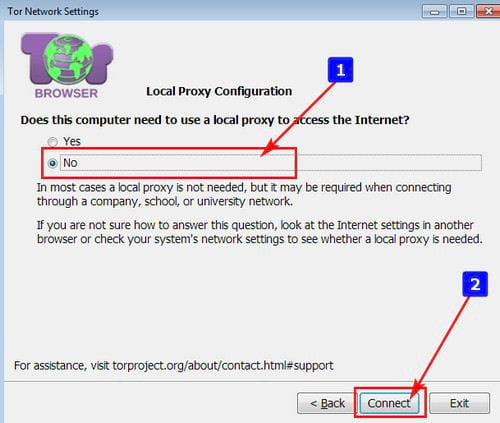 access deepweb with browser 7