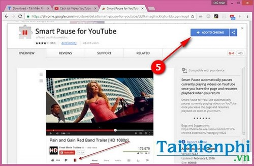 Use YouTube videos when opening new tabs
