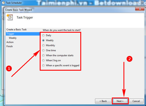 How to synchronize the backup file for a folder on Windows 4
