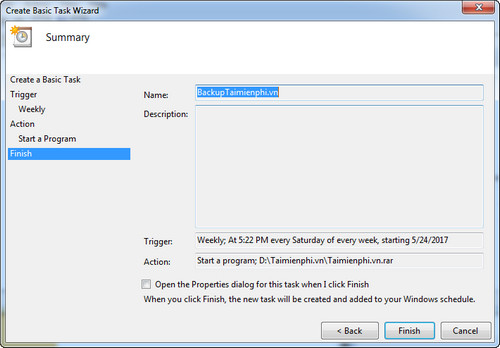 How to synchronize the backup file for a folder on Windows 8