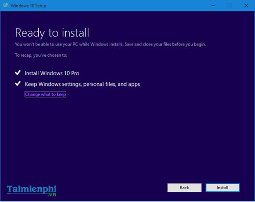 How to update to Windows 10 Creators Update without data 14
